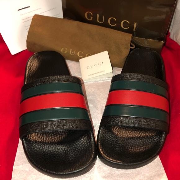 6e8426e2b44 Gucci Shoes - Pre-owned Gucci Slides